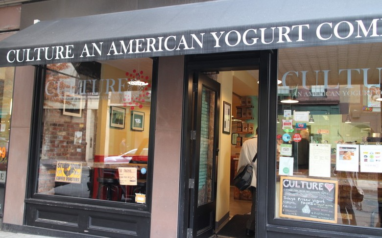 NYの本格ヨーグルトショップ:culture an american yogurt company