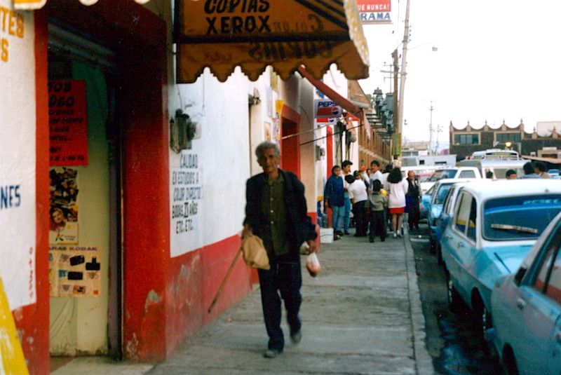1995年の旅:メキシコ