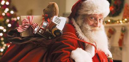 Redbrick Warehouse Santa