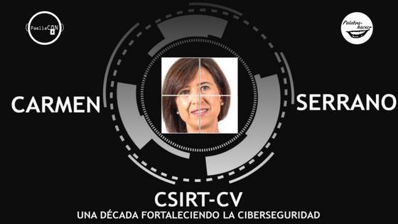 CSIRT-CV charla de Carmen Serrano en PaellaCON.