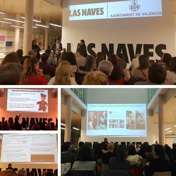 Charlas digitales para familias en Las Naves