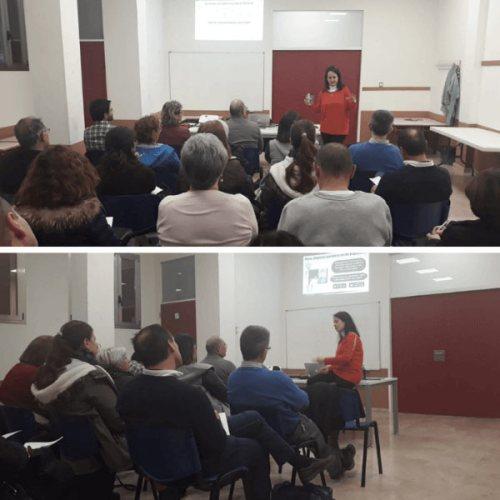 Jornada Competencia digital docente CEFIRE Gandia.