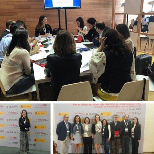 Foro Género y Ciberseguridad organizado por INCIBE y OEA.