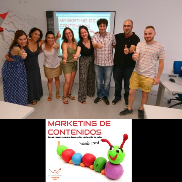 Taller Marketing de Contenidos en Lanzadera Torrent