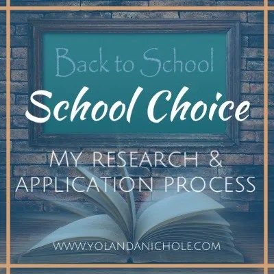School Choice in Durham – My Research & Application Process