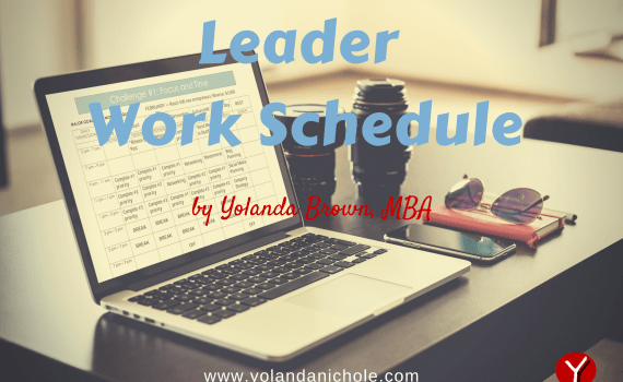 Leader Work Schedule