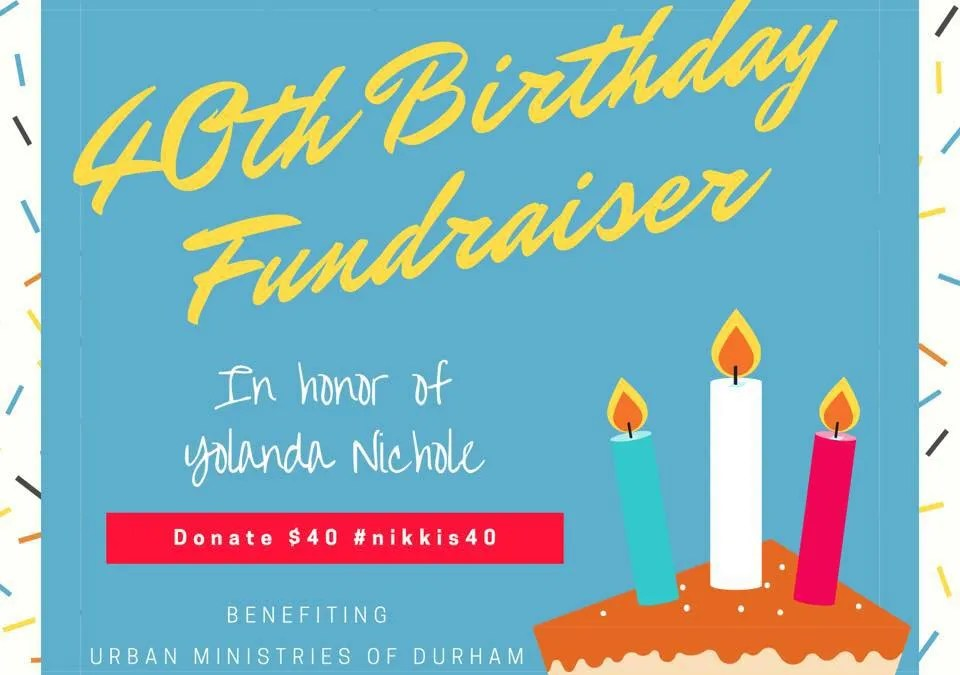 How to donate your birthday to a special cause