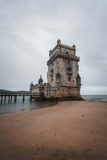 Lizbon'da Belem Kalesi