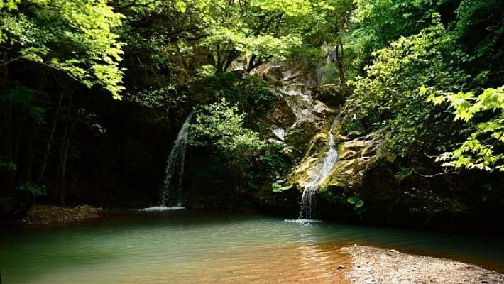 Hacıllı Köyü ve Şelalesi Kamp Alanı