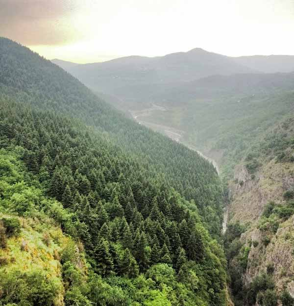 Valla kanyonu seyir terası