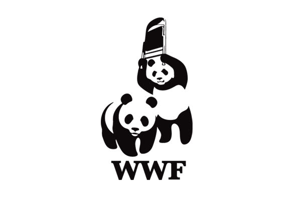 Worlds Wilflife Federation. Nuotr. http://www.diehardthreads.com/products/wwf-panda-wrestling-t-shirt