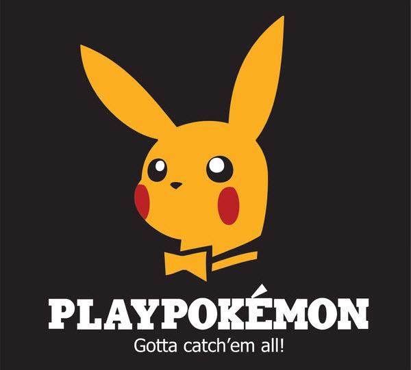 PLAYBOY. Nuotr. http://www.behance.net/gallery/Logo-parody/3651603