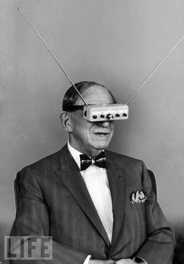 16. Oculus Rift senolis - nešiojamas televizorius