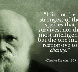 Using Darwin's Theory of (Social Media) Evolution for 2016
