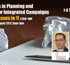 Innovations in Planning and Research for Integrated Campaigns Masterclass (2nd August 2017)