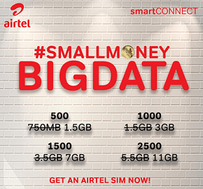 Airtel New Data Offer - Small Money Big Data
