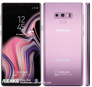Leak Photos of Samsung Galaxy Note 9, Dual Rear Camera