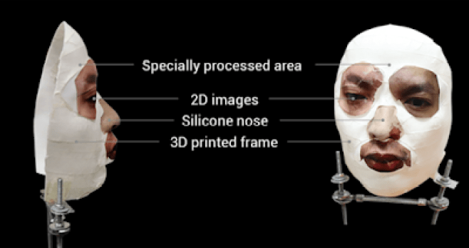 This mask bypass apple face ID recognition