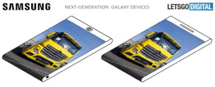 samsung future foldable phone