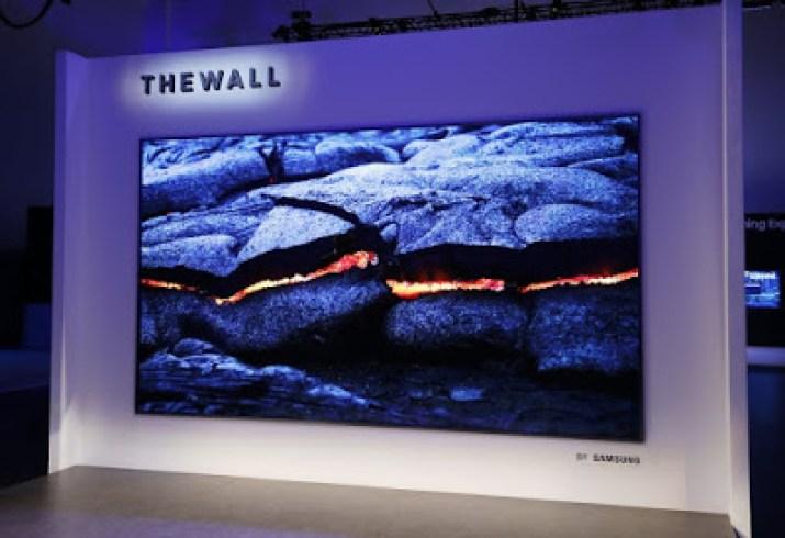 Samsung wall tv
