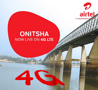 Airtel 4G LTE Now Live in Onitsha, Awka, Nnewi