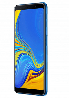 Samsung Launches its First ever triple-lens camera Device - Galaxy A7