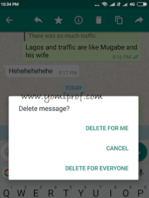 WhatsApp Set to Change Delete For Everyone Usage