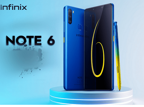 Unveliling Infinix Note 6, AMOLED Display, Triple Camera - Fast Download