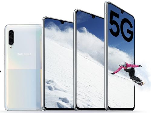Samsung Galaxy A90 5G, Infinity-U display, 8GB RAM, triple