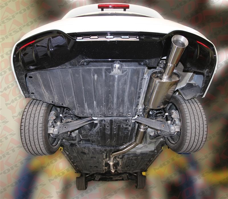 yonaka 2012 2015 honda civic si 4dr sedan 3 catback exhaust