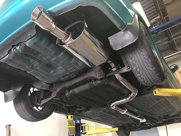 yonaka 1992 2000 honda civic 2dr 4dr 3 inch catback exhaust