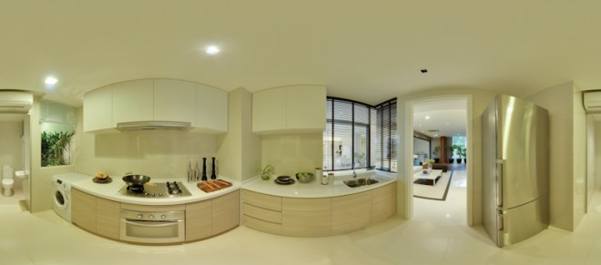 UEL Austville EC showflat virtual tours - Kitchen by YongHao Photography