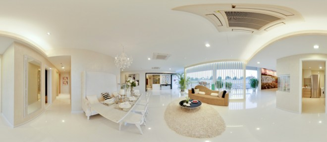 UEL Austville EC showflat virtual tours - living room by YongHao Photography