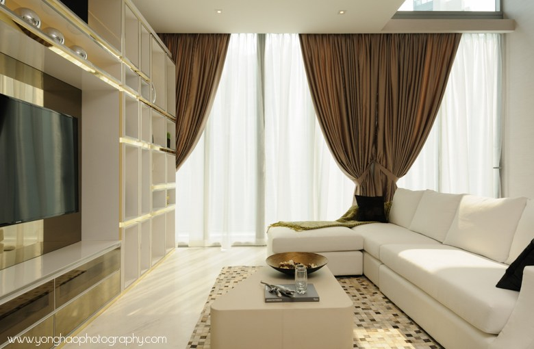 Jardin condo showflat interior design by akds yonghao for Hae yong interior designs