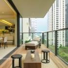ardmore three, wheelock properties, condo showflat, yonghao photography, balcony