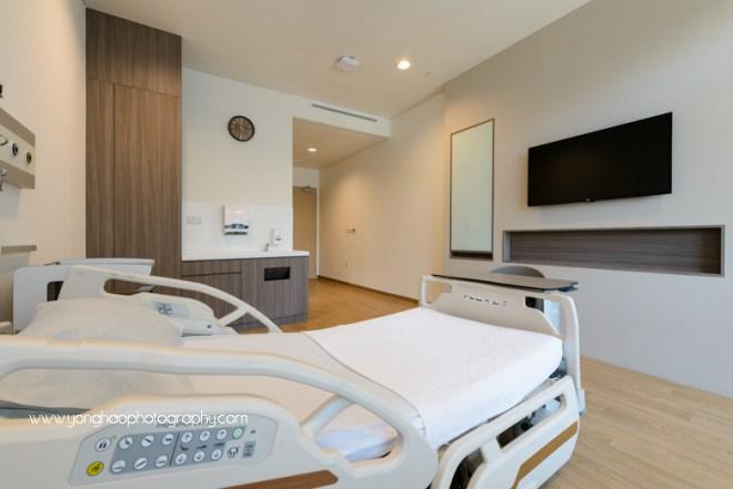 yishun community hospital, yonghao photography, interior photography, hospital photography, singapore photography, photography services