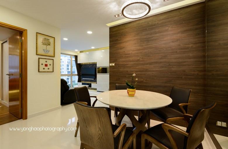 Interior Photography of Residential unit at Gardenvista for Sky Design & Renovation