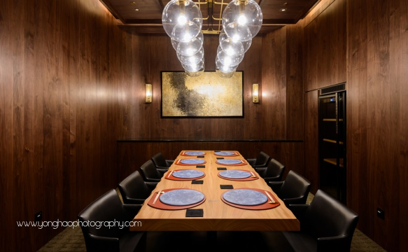 Interior Photography of Takayama Japanese Restaurant, by KOBO Design