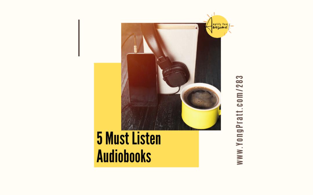 5 Must Listen Audiobooks
