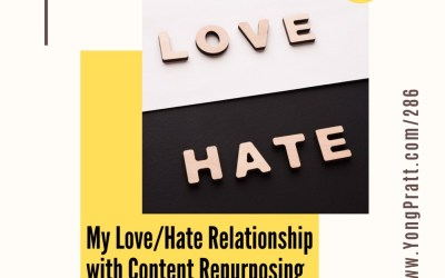 Dr. Content's Love/Hate Relationship with Content Repurposing