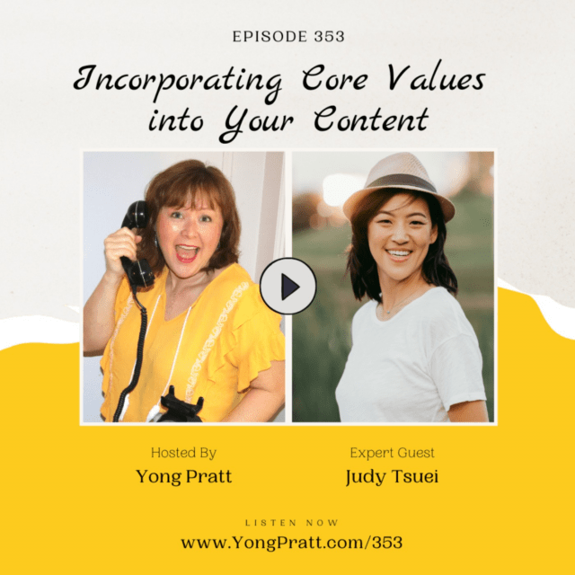 Incorporating Core Values into Your Content