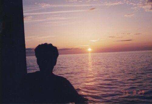 東シナ海夕陽