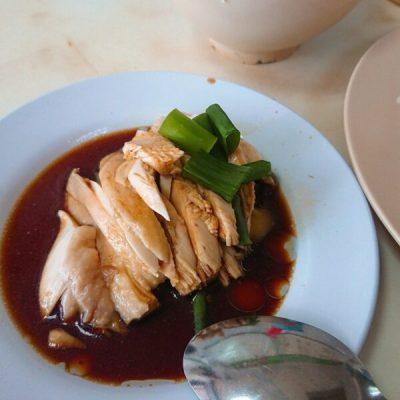 伍秀澤海南鶏飯茶室チキンライス