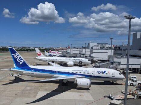 福岡空港スポット