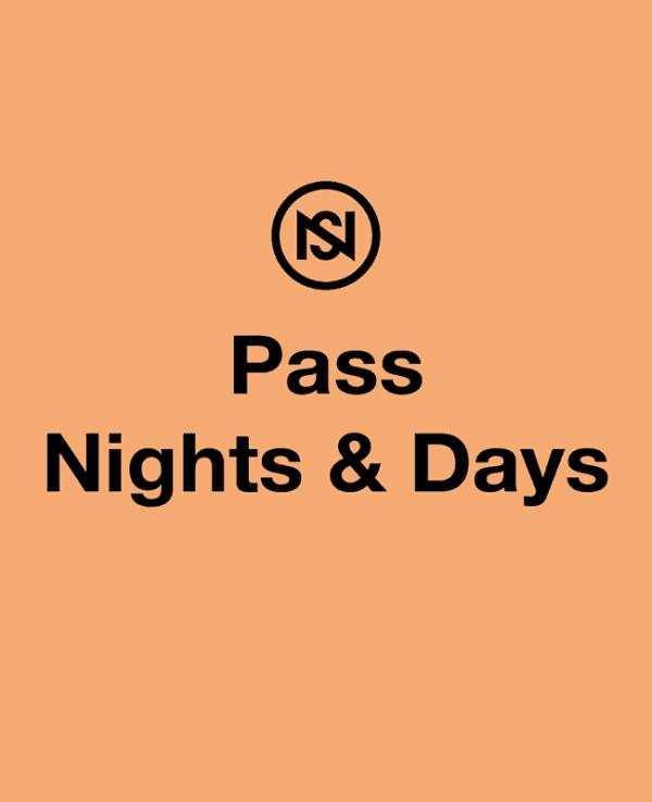 Pass jours et nuits festival nuits sonores 2019
