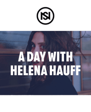 a day with helena hauff