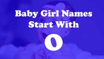 Baby Girl Names Start with o
