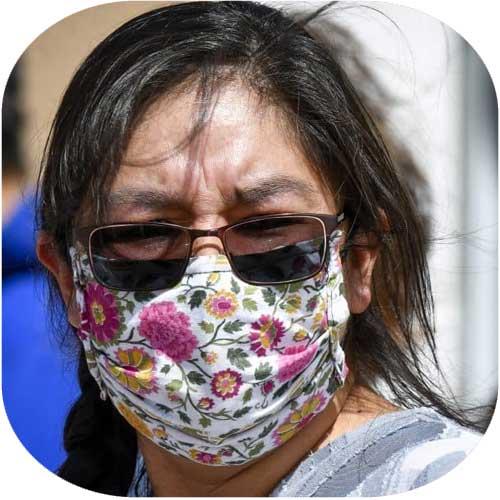 Wear a (homemade) mask