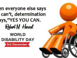 International Disability Day Quotes