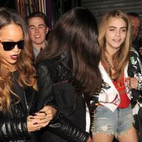 I've got a knee injuRiri: Rihanna left with bloody leg after fan throws Lucozade bottle outside nightclub